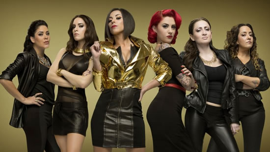 LUCKY LADIES - Reality rockero a la mexicana en ENTRETENIMIENTO.  Chicas Rockeras!